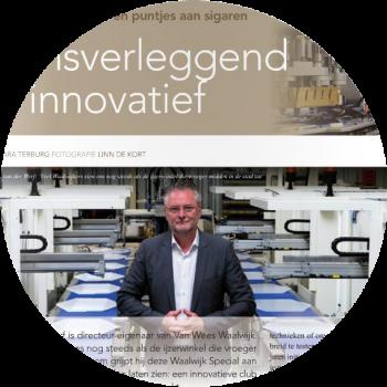 Machinefabriek Van Wees mooi samengevat in een artikel van regio Business Waalwijk.