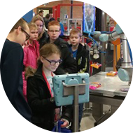 Techniek promoten bij de jeugd op scholengemeenschap de Overlaat
