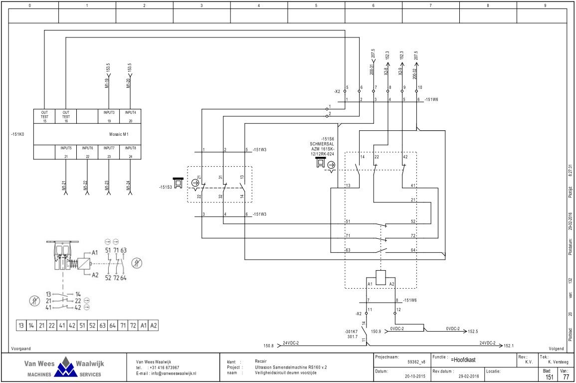 Speciaal machinebouw - Van Wees Waalwijk is de specialist