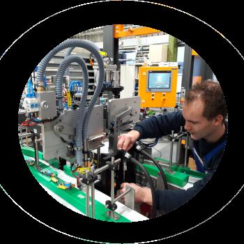 Opbouw van de laserlasmachine voor Airopack vordert gestaag